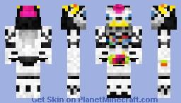 Kamen Rider Lazer Bike Gamer Level 1  仮面ライダーレーザー Minecraft Skin