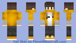 ℉ℬI❖Orange Boy Minecraft Skin
