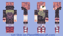 merry christmas its the zombie apocalypse Minecraft Skin
