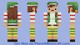 me as an elf Minecraft