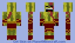 Watertos, God of Melons Minecraft Skin