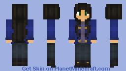 Nora Blackthorn Minecraft Skin