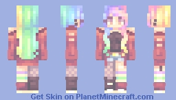 Rainbows kablamo Minecraft Skin
