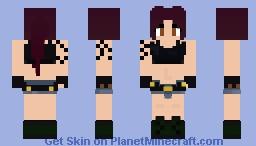 Black Lagoon Revy Minecraft Skin
