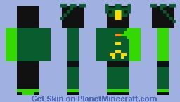 Kamen rider Ex-Aid Graphite Minecraft Skin