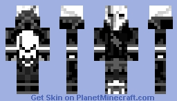 Rebel Ghost Minecraft Skin