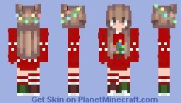 My Xmas Oc ~Kalnz Minecraft Skin