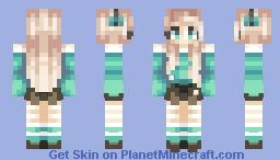 Ocean Eyes Minecraft Skin
