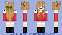 Reindeer Girl (First Skin) ~ נєωєℓ Minecraft Skin