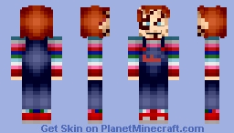 Chucky - Child's Play (First Skin) Minecraft Skin