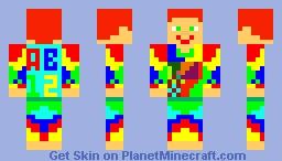Creative man Minecraft Skin