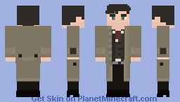 Detective Tim Anthony Young Minecraft Skin