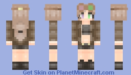 Woah, I'm not dead (Remake) Minecraft Skin
