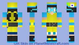 Ying (from BoBoiBoy Galaxy) Minecraft Skin