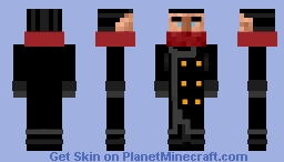 The Shadow A.K.A. Lemont Cranston Minecraft Skin