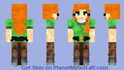 Alex 2.1◊4§4◊ Minecraft Skin