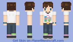 Me IRL [Updated] Minecraft Skin