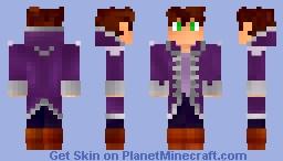 Conf - New Coat Minecraft Skin