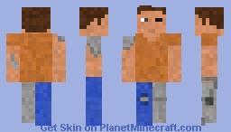 Hidden Cyborg - Human/Robot Skin Minecraft Skin