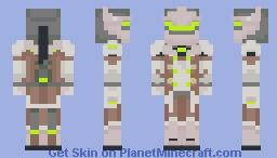 Overwatch - Genji Minecraft Skin