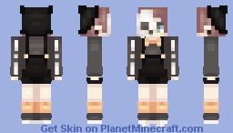 spoop kid Minecraft Skin