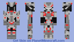 Promethean Captain (Halo 5: Guardians) Minecraft Skin