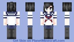 Aishi Ayano (Yandere~Chan) • Yandere Simulator! Minecraft Skin