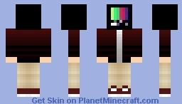 Skin trade with CryWasTaken Minecraft Skin