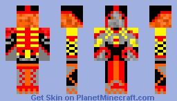 Earthen mage Minecraft Skin