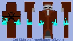 Ice monk Minecraft Skin