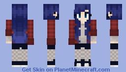 i'm back 🙃 Minecraft Skin