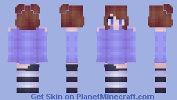 miss purple Minecraft