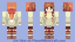 Late Christmas cX Minecraft Skin