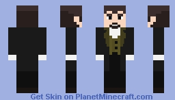 Lucius Needful [Rick And Morty] Minecraft Skin