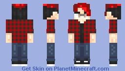 lUCKY fLANNEL - Eden/Kevun Contest Minecraft Skin