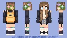 𝓈𝒸𝒽𝑜𝑜𝓁 𝑔𝒾𝓇𝓁 ❤ Minecraft Skin