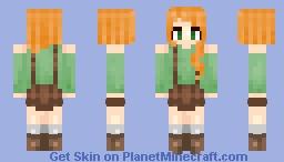 Lovely Alex Minecraft Skin