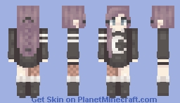 moon child Minecraft Skin