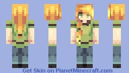 Mojang Alex Revamp ! // Minecraft Skin
