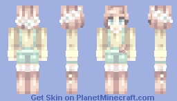 can't get enough // collab Minecraft Skin