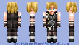 Prompto Argentum (Final Fantasy) Minecraft Skin