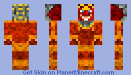 Samurai skin Minecraft Skin