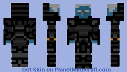 Dark Elf Shadowknight Minecraft Skin