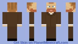 VincentVanGogh Minecraft Skin