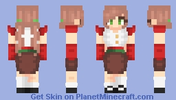 ♥ƒιяє♥ deck the halls with boughs of holly... bell... - Skin/art trade/gift thing Minecraft Skin