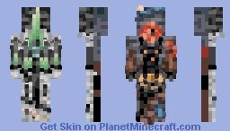 """☆ βενεℜℓγ ☆  """"And Minas Morgul answered.""""  (Farewell 2016!) Minecraft Skin"""