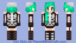 Skeletons are cool Minecraft Skin