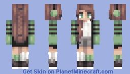 kicks // pastel snow's contest // spotify Minecraft Skin