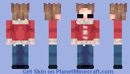Happy Holidays..? (Eddsworld) Minecraft Skin