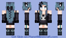 MιѕѕNιgнтOωℓ Two Very Cute Things (300 Subs Thank You) Minecraft Skin